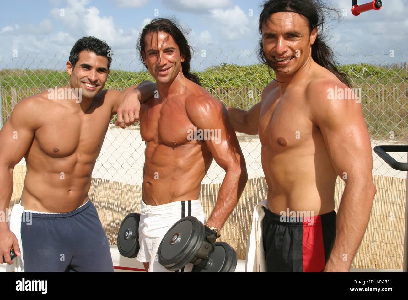 Muscle Beach Ocean Drive Miami