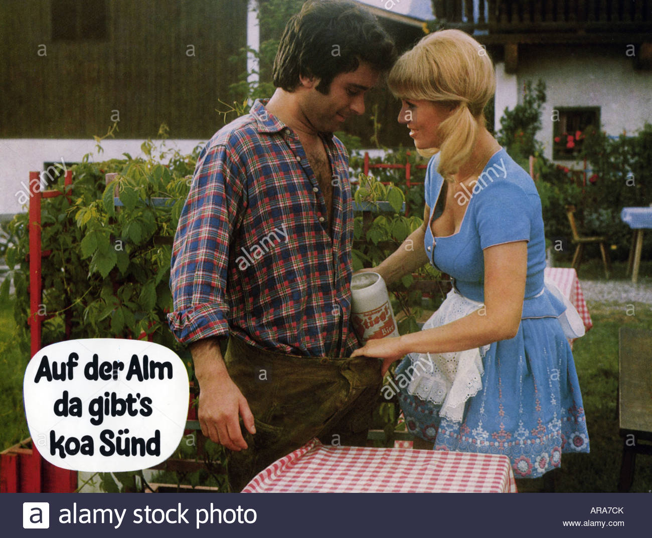 movie auf der alm da gibt 39 s koa s nd deu 1974 director franz stock photo 15989826 alamy. Black Bedroom Furniture Sets. Home Design Ideas