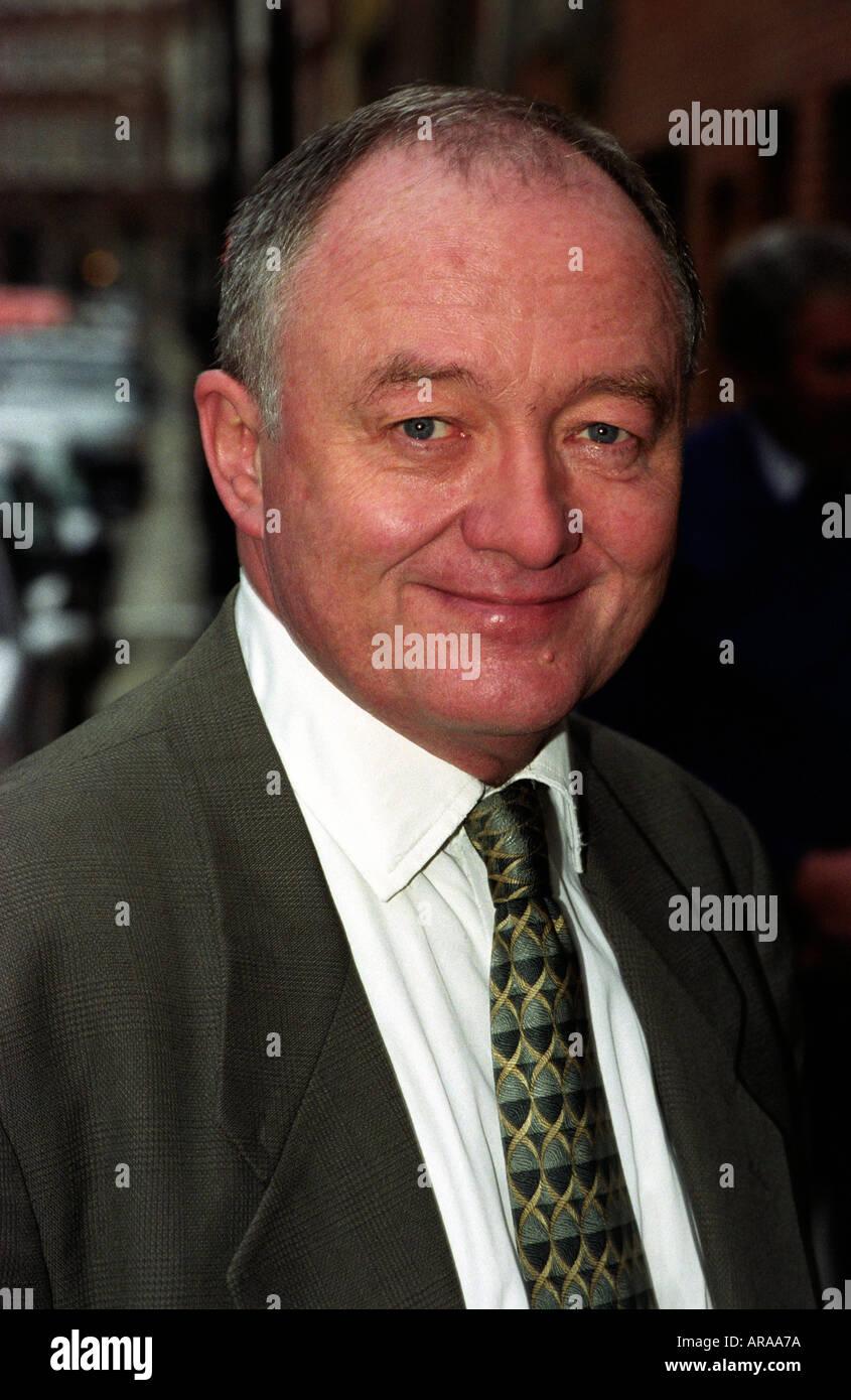 Ken Livingstone, Mayor of London and former Leader of the GLC, London, UK. - Stock Image