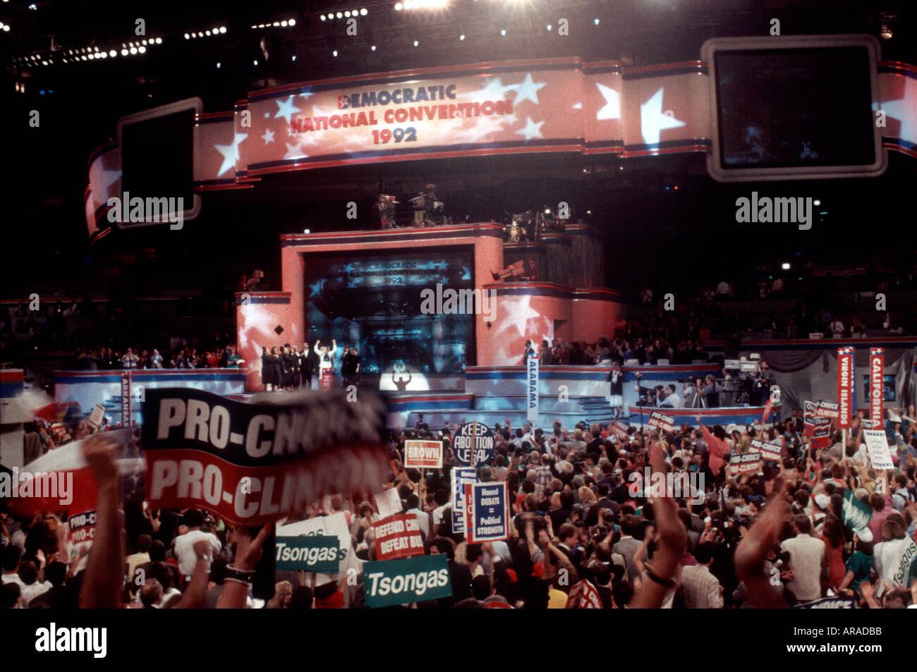 1992 Democratic Convention Sto...