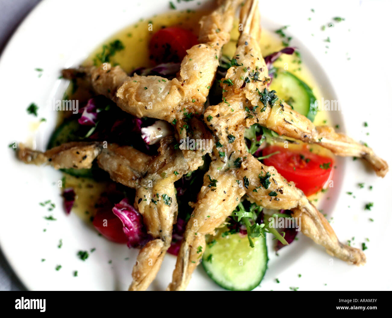 National dishes of France. Frog legs in French. French onion soup. Croissants. Baguette 92
