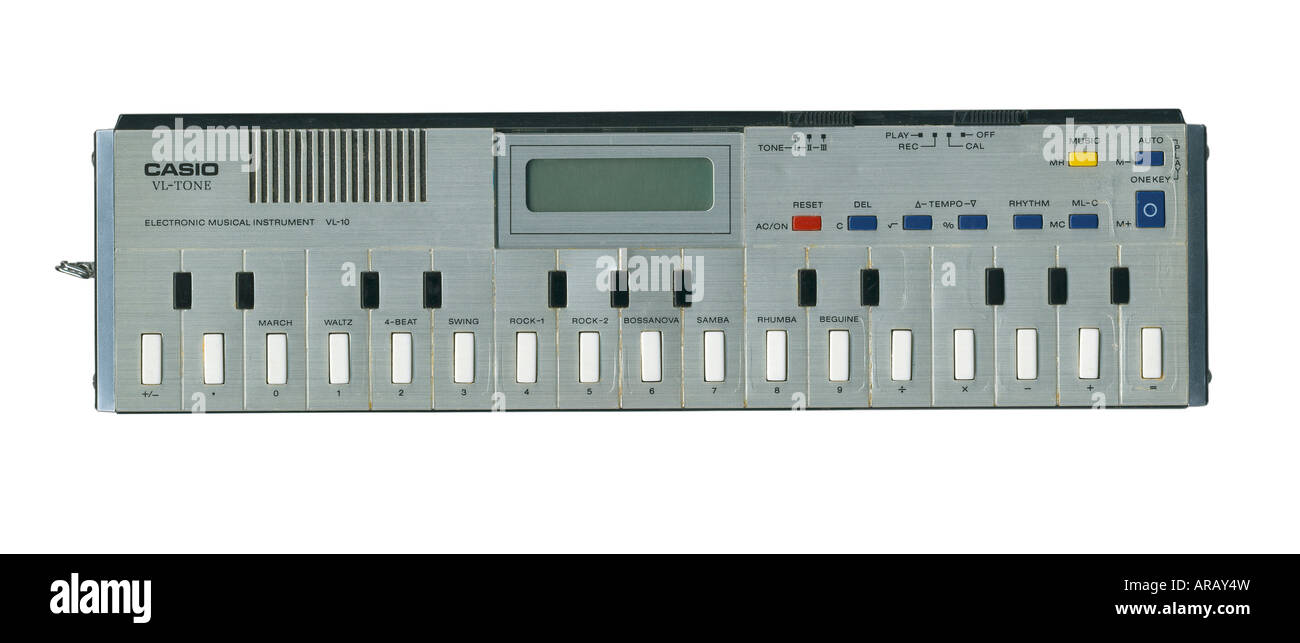 Casio VL Tone VL10 Electronic Musical Instrument - Stock Image