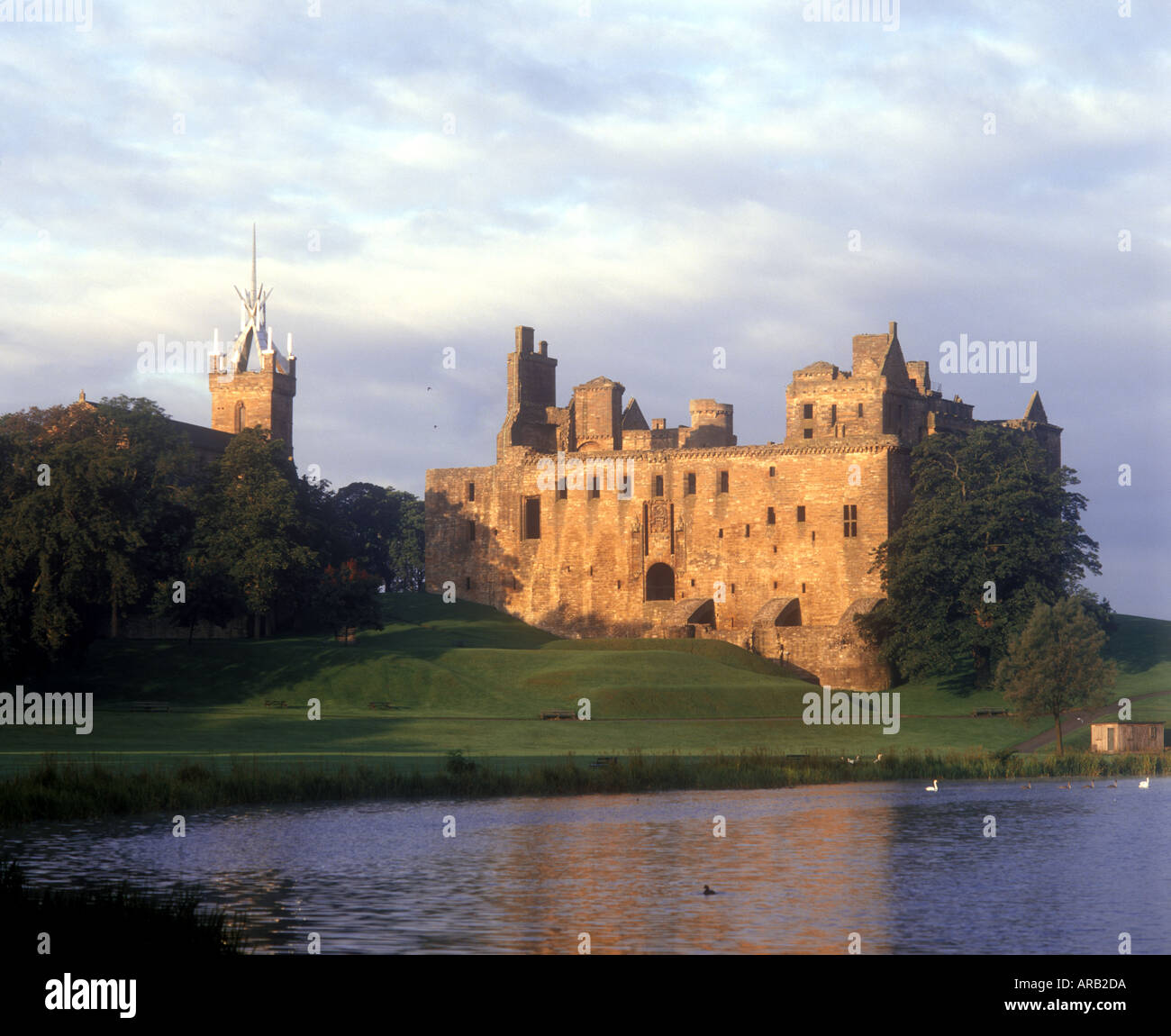 Linlithgow Palace Linlithgow West Lothian Scotland Stock Photo