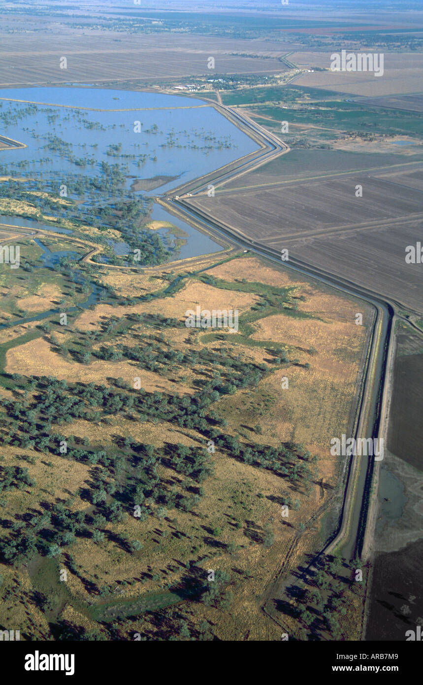 Irrigation channel - Stock Image