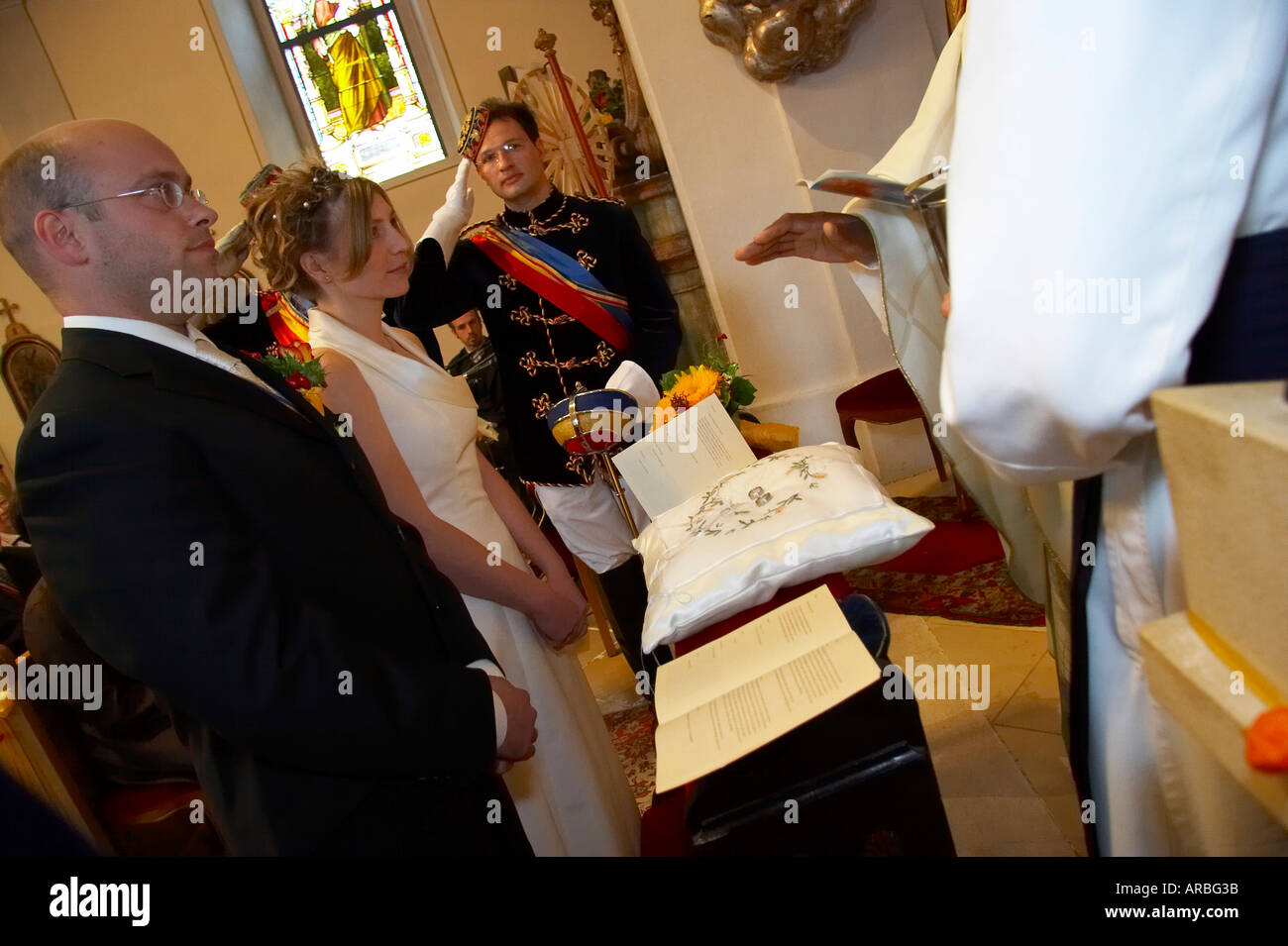 depositphotos stock rings sonyachny wedding blessing photo priest