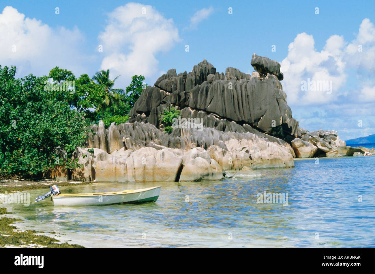 Curieuse Island, Seychelles, Indian Ocean - Stock Image