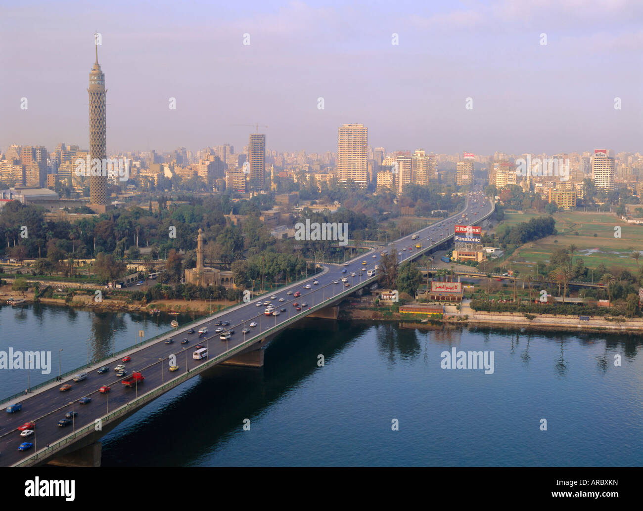 6th October Bridge Cairo Egypt