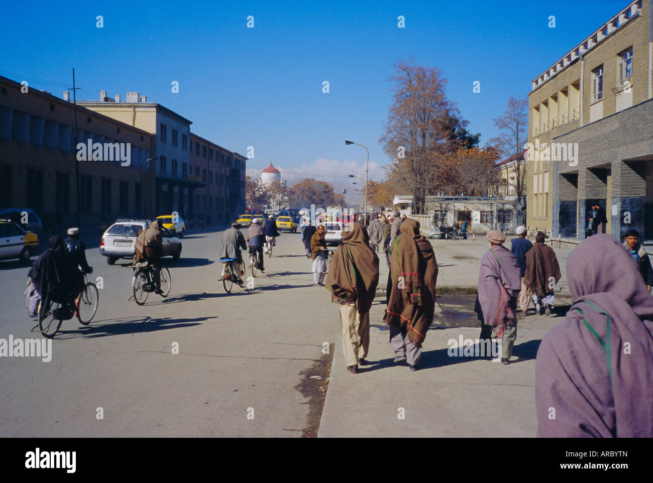 Street scene, Kabul, Afghanistan Stock Photo