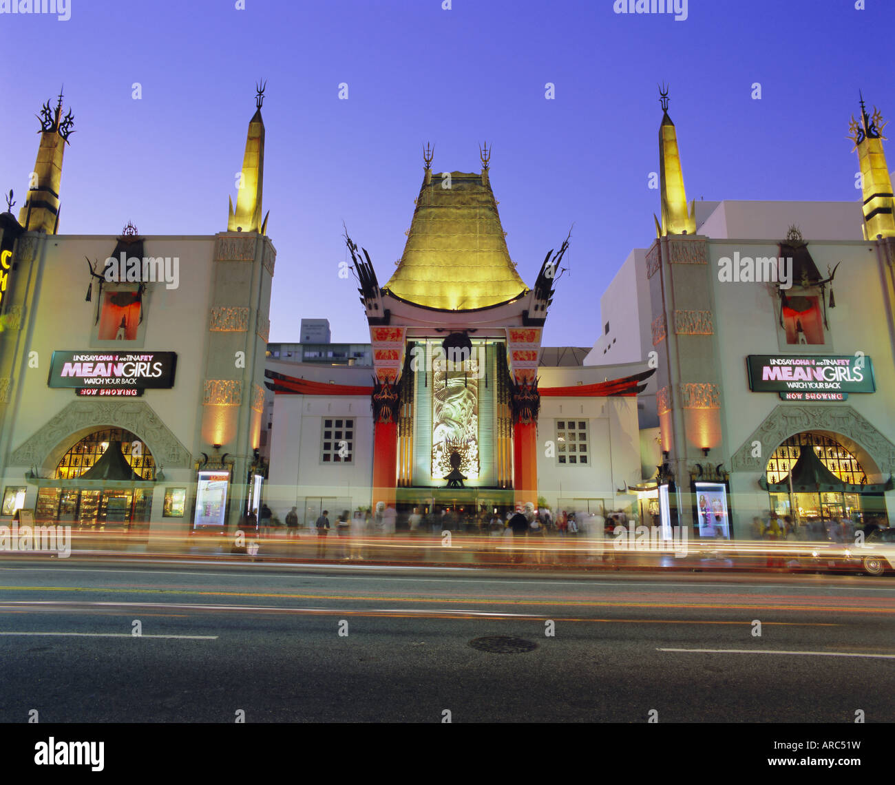 Graumann's Chinese Theater, Los Angeles, California, USA, North America - Stock Image