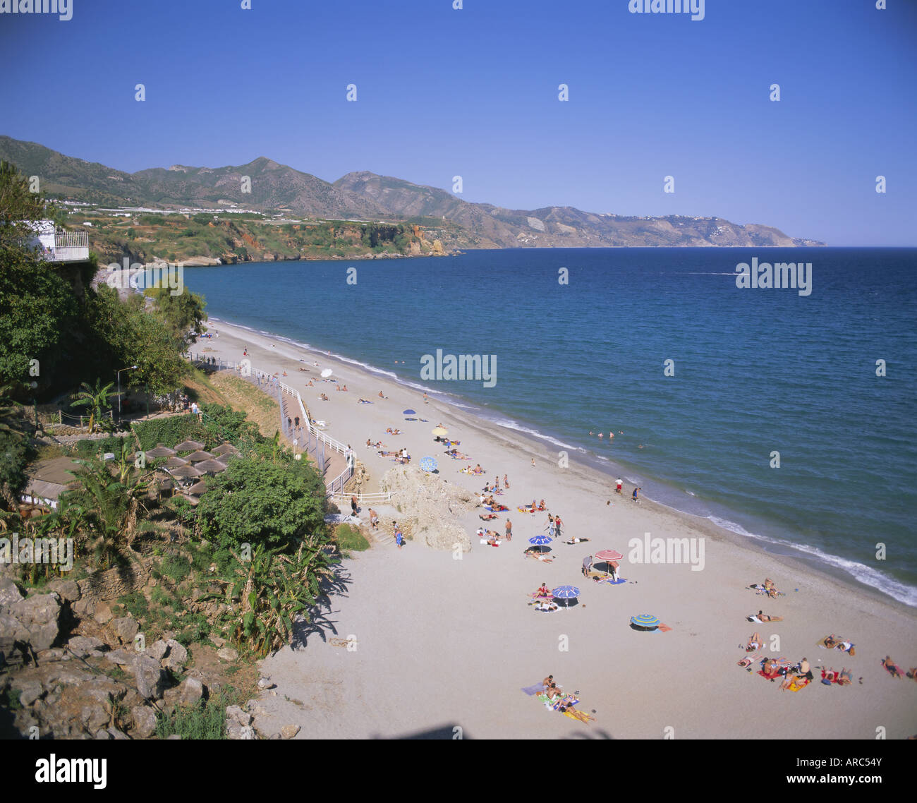 Nerja, Costa del Sol, Andalucia (Andalusia), Spain, Europe - Stock Image