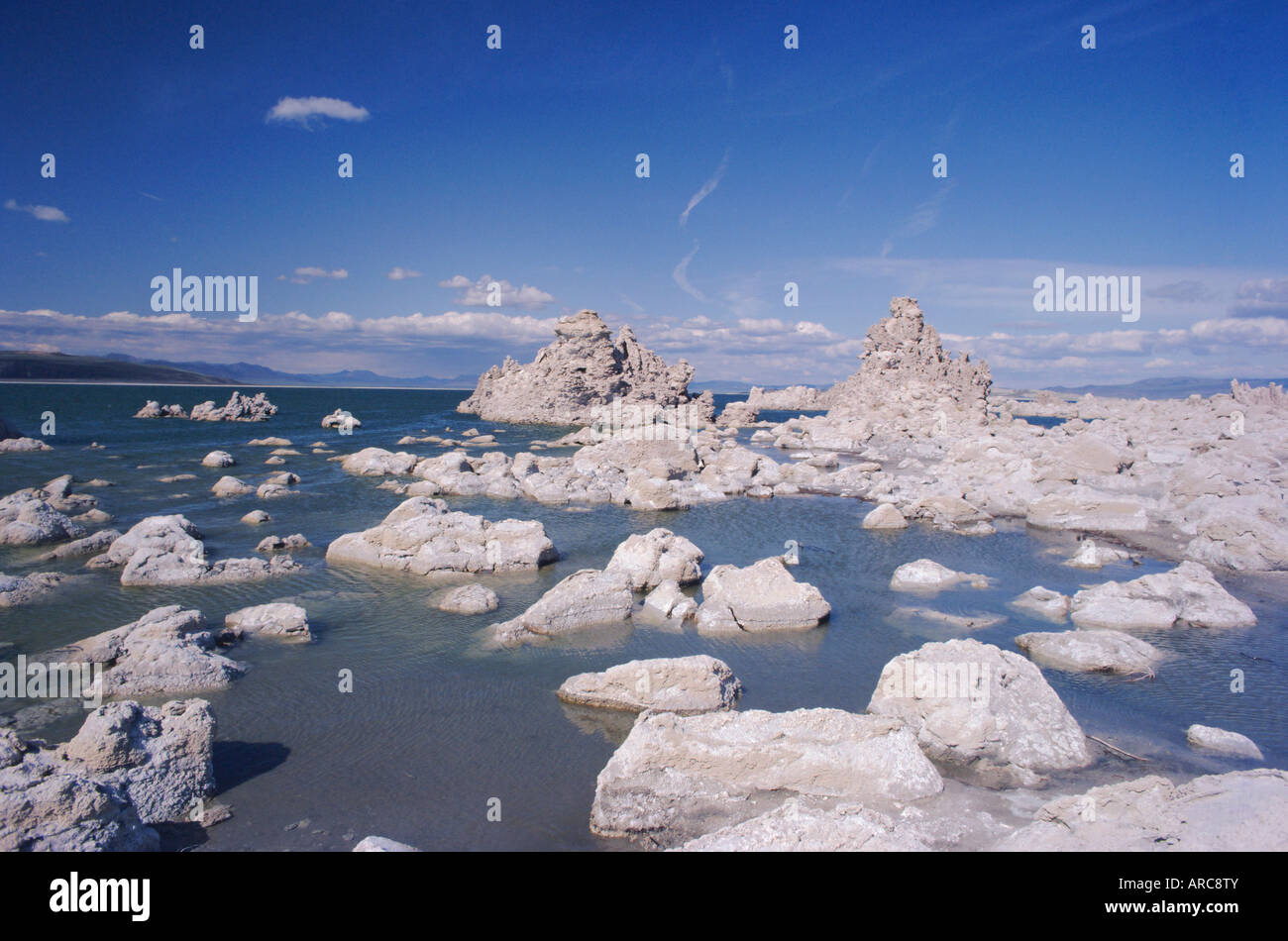 Mono Lake, California, USA, North America - Stock Image
