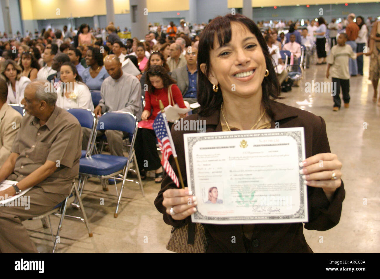 Certificate Of Naturalization Stock Photos Certificate Of