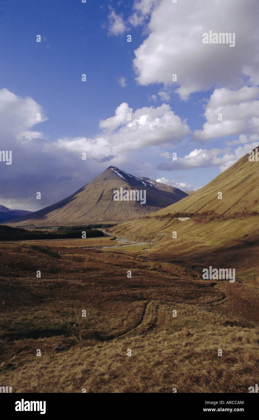 Grampian Mountains, Scotland, UK, Europe - Stock Image