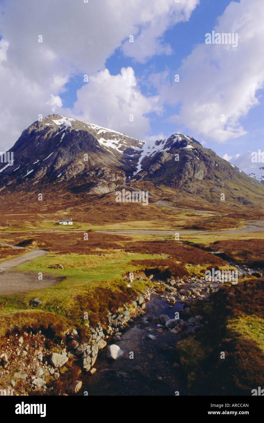 Glencoe (Glen Coe), Highlands Region, Scotland, UK, Europe - Stock Image