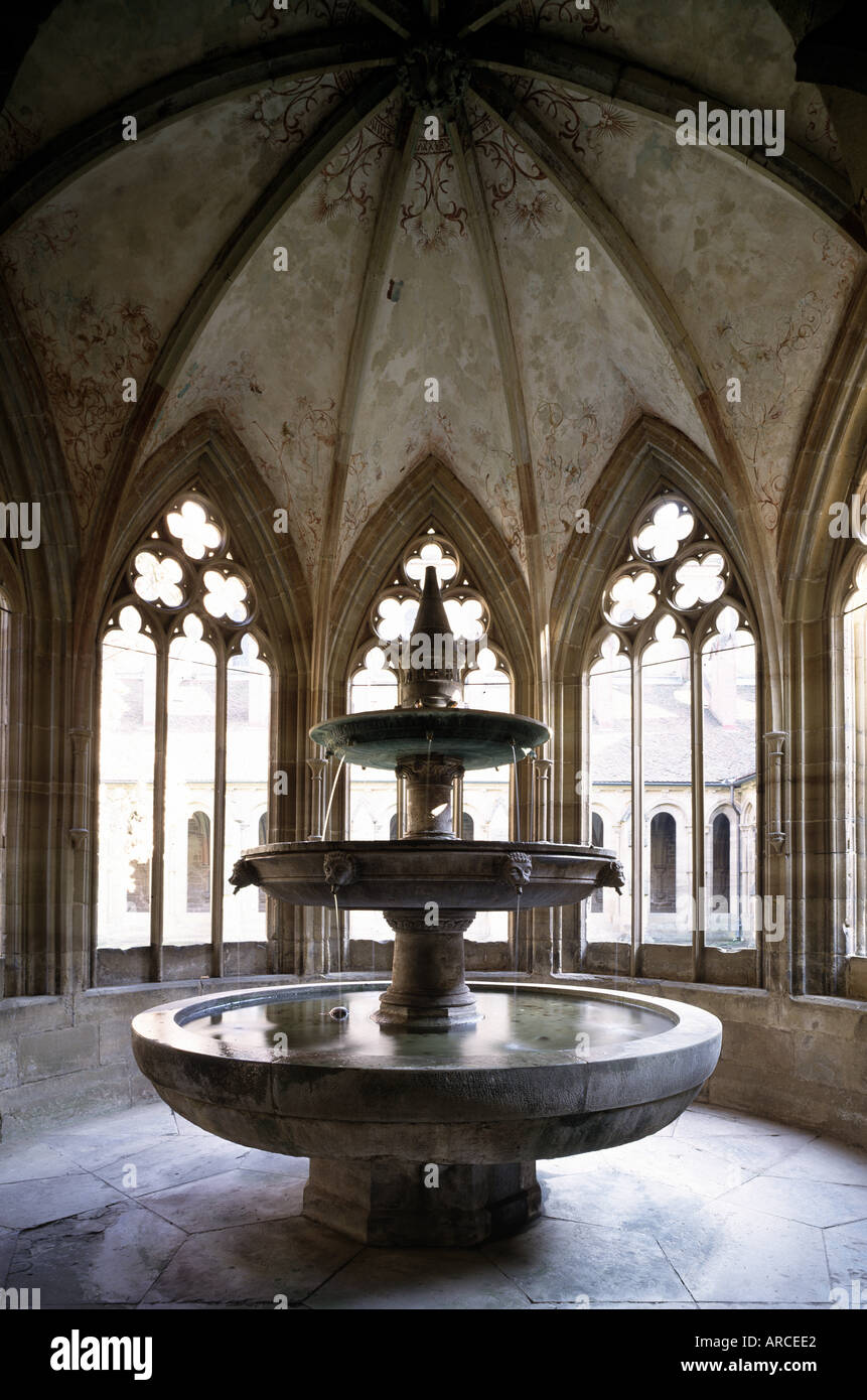 Maulbronn, Zisterzienserkloster, Brunnenhaus Stock Photo