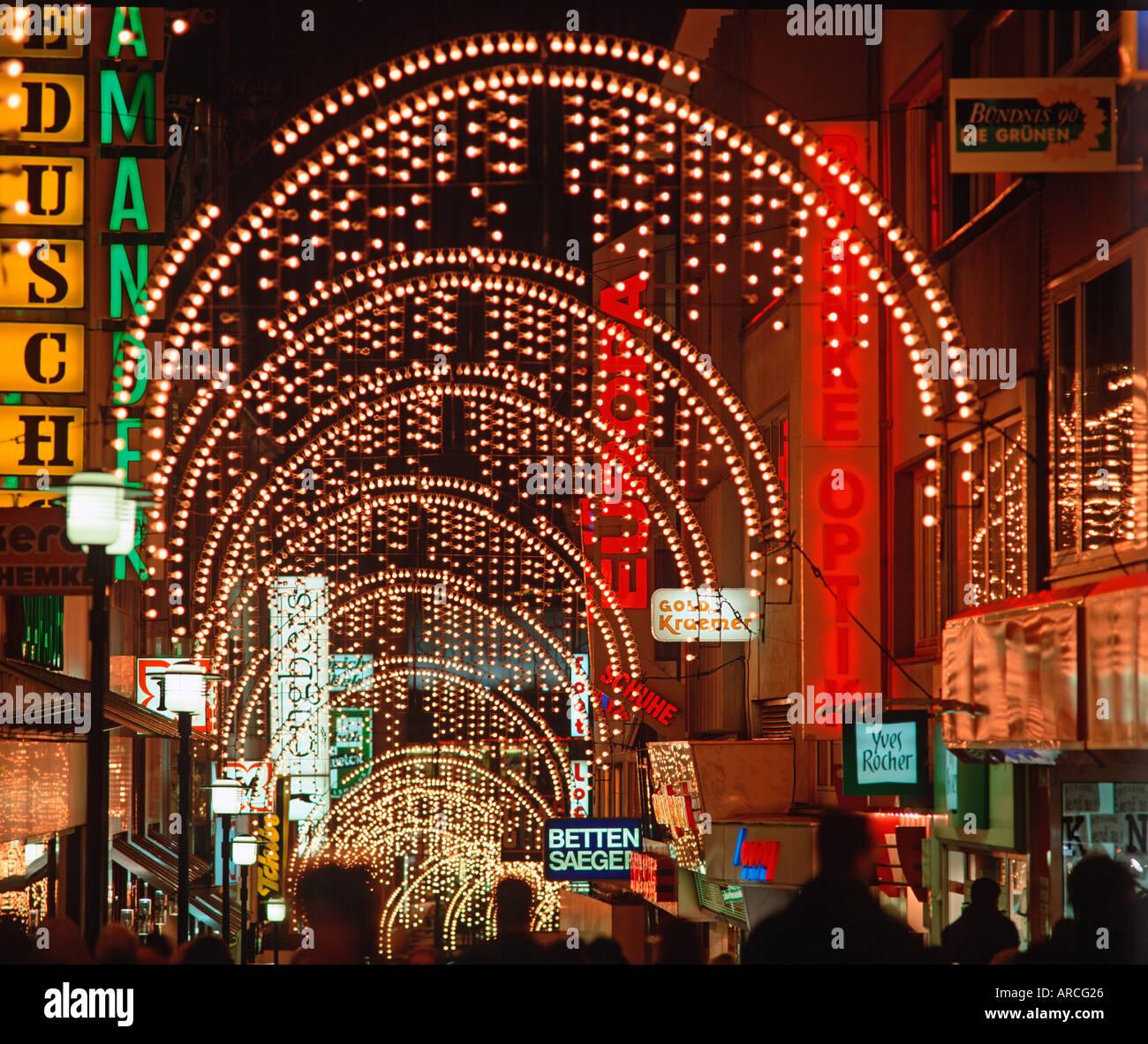 Essen Light Weeks Stock Photo