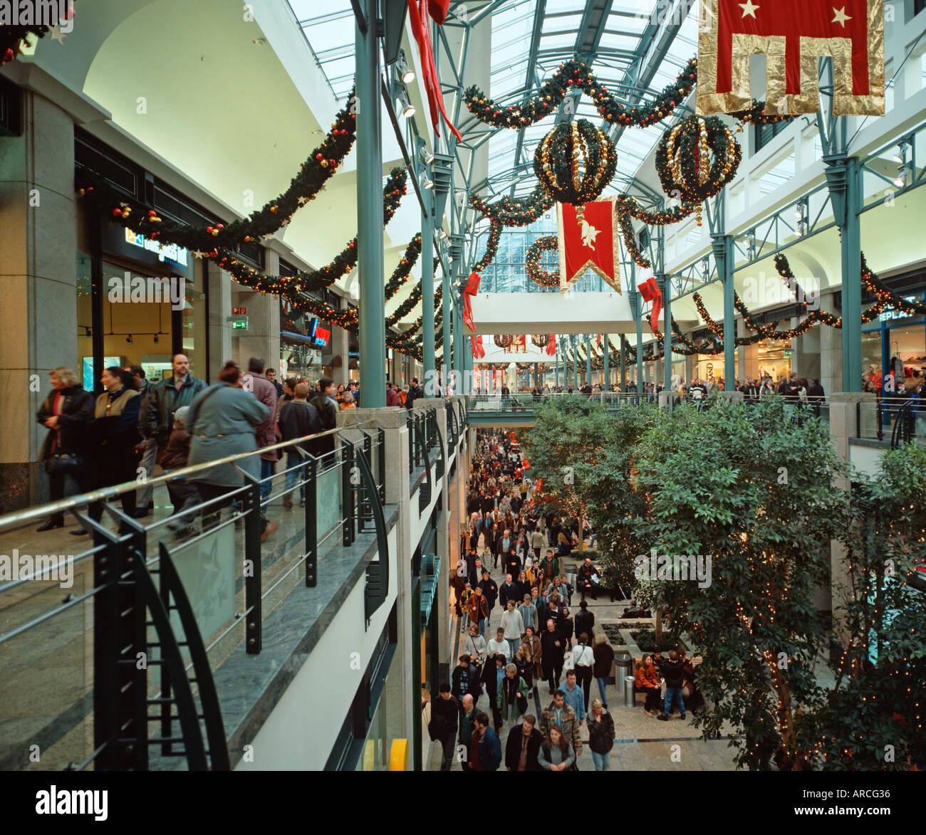 Oberhausen The shopping centre Oberhausen CentrO Stock Photo