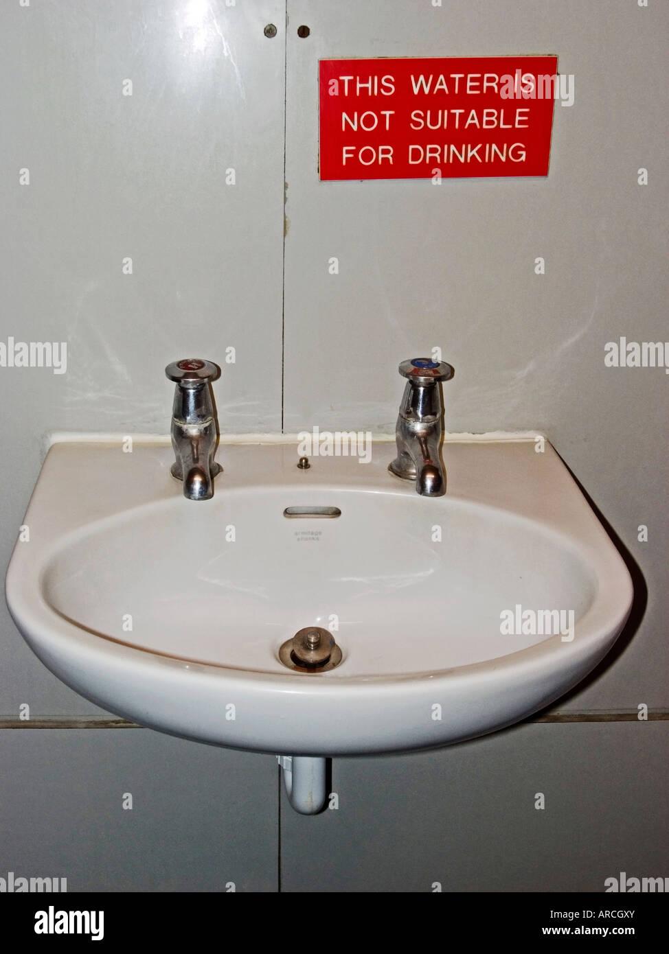 hand basin - Stock Image