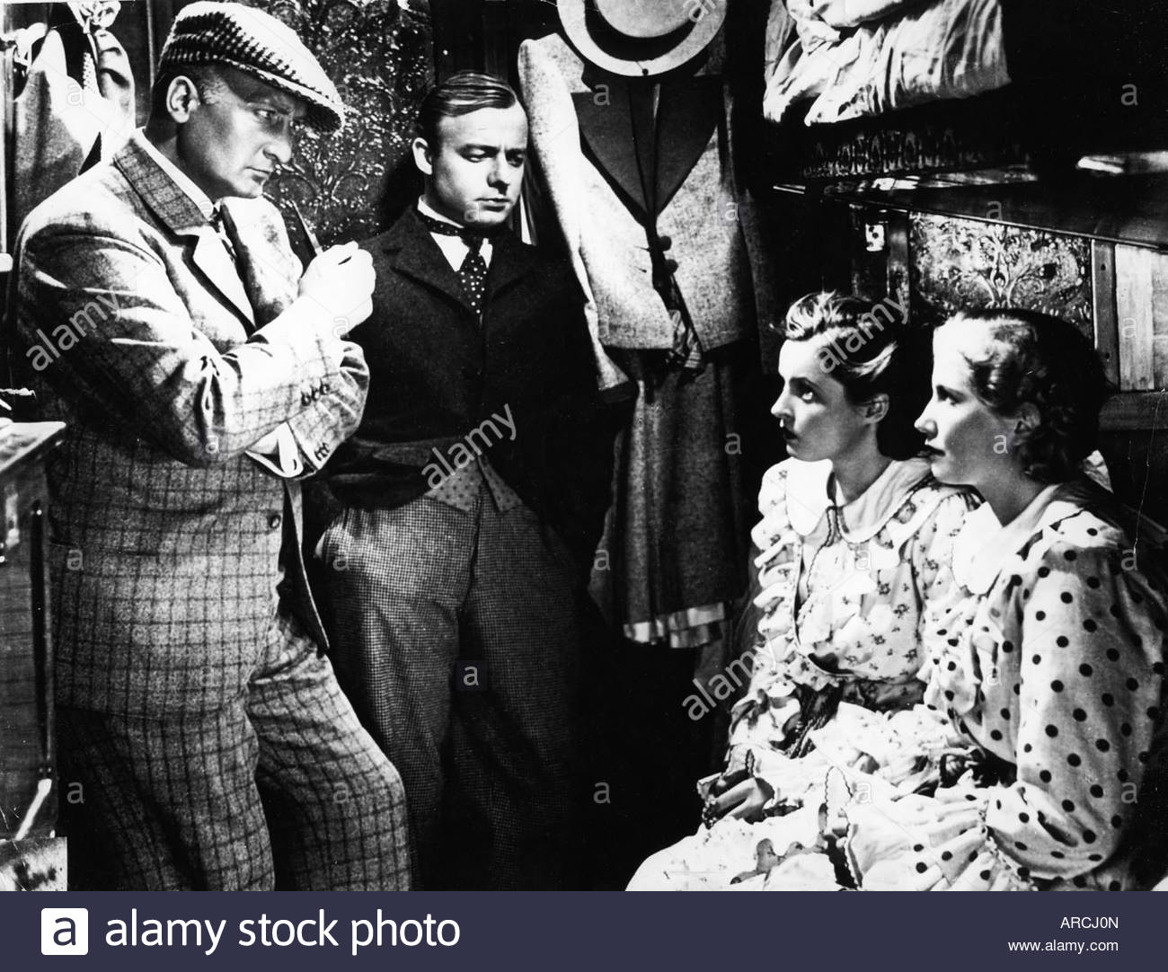 'movie, 'The Man Who Was Sherlock Holmes' (Der Mann der Sherlock Holmes war), DEU 1937, director: Karl - Stock Image
