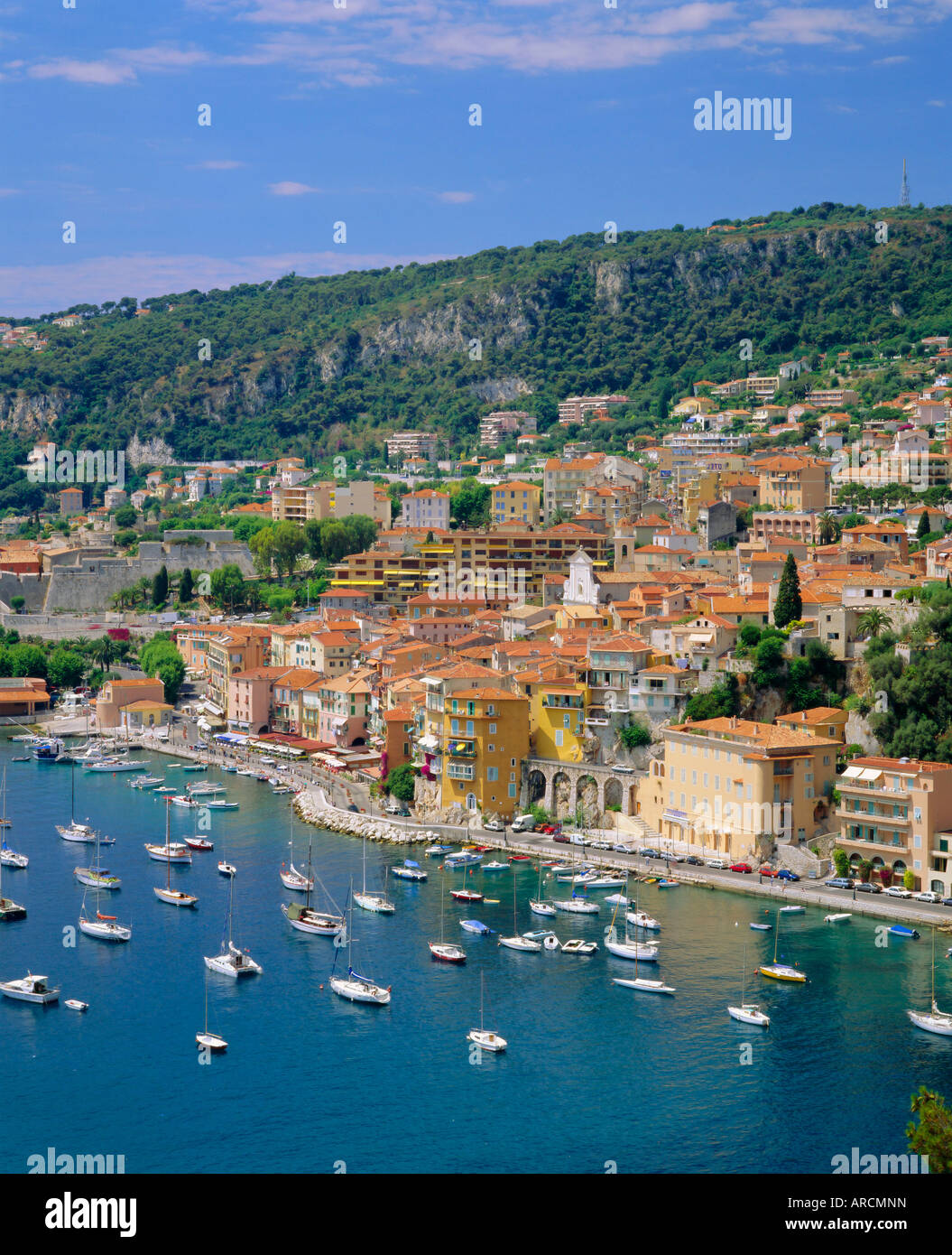 Villefranche, Cote d'Azur, Provence, France, Europe - Stock Image
