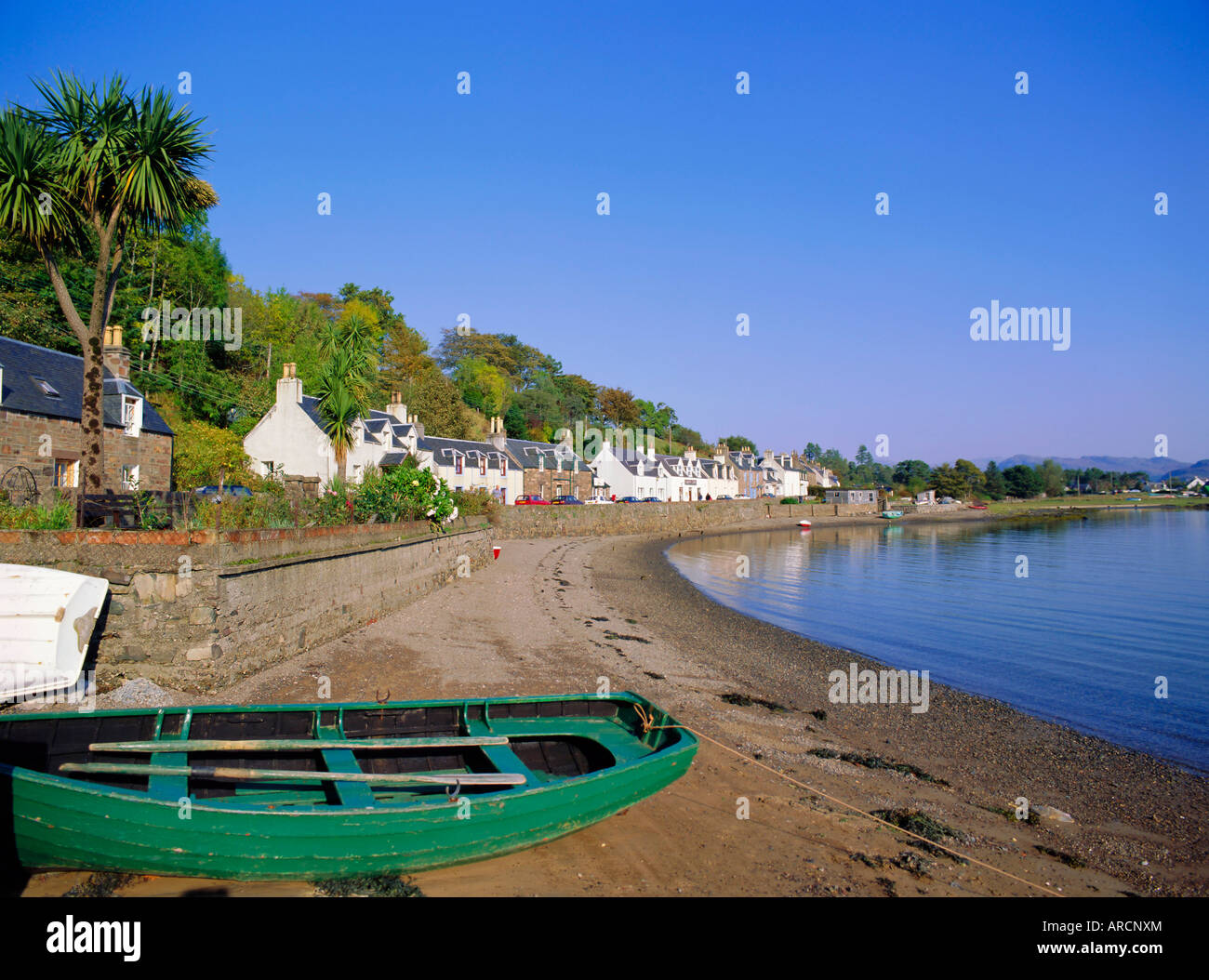 Plockton, North West Highlands, Highlands Region, Scotland, UK, Europe - Stock Image
