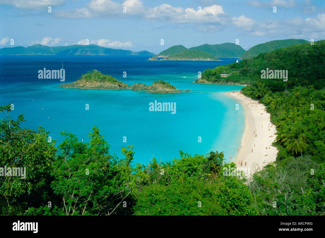 Trunk bay st. john u.s. virgin islands