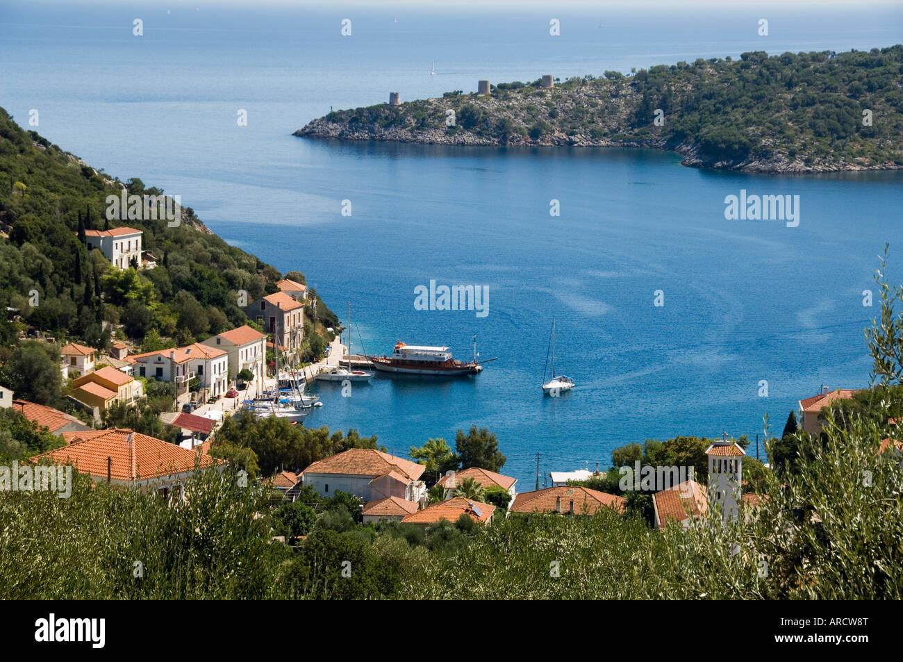 Kuoni, Ithaca, Ionian Islands, Greece, Europe Stock Photo