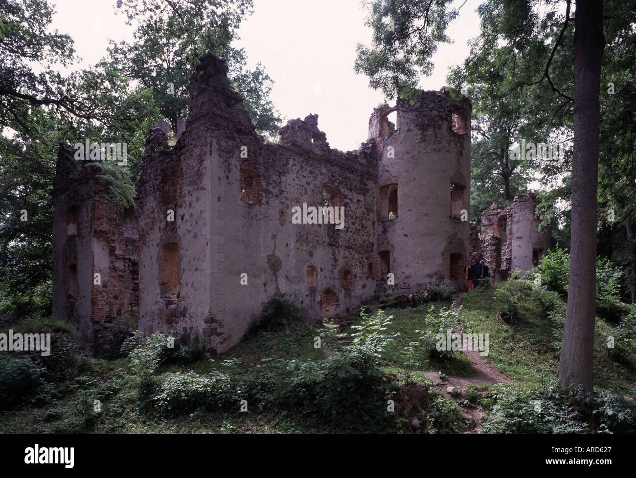 Veste Landskron, Burg, Erbaut von Ulrich von Schwerin in den Jahren 1576 bis 1579. Stock Photo