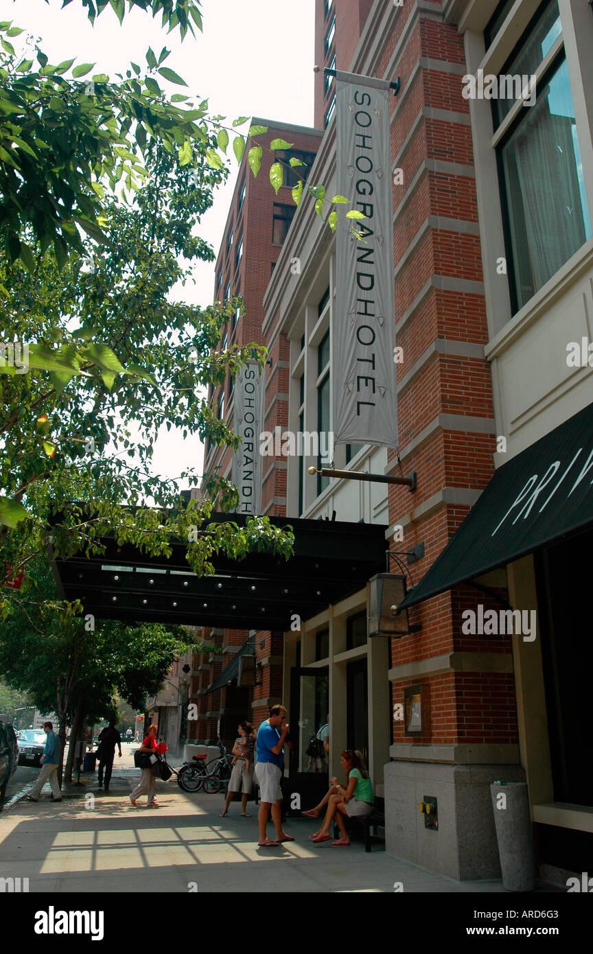 Soho Grand Hotel On West Broadway In Soho In Nyc Stock Photo Alamy