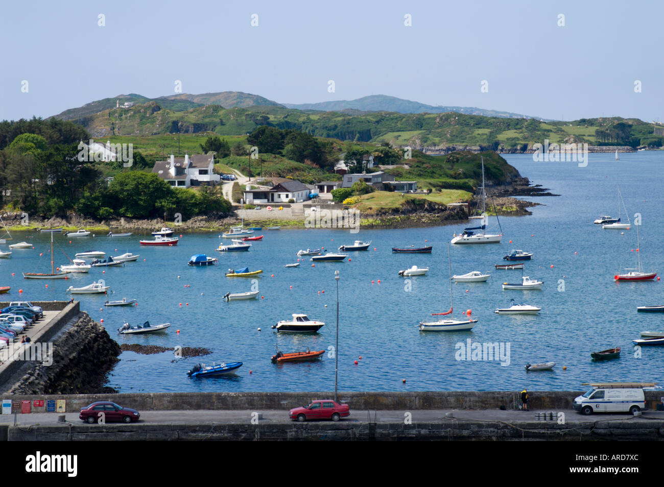 South West Ireland West Cork The Harbour Fishing Port Of