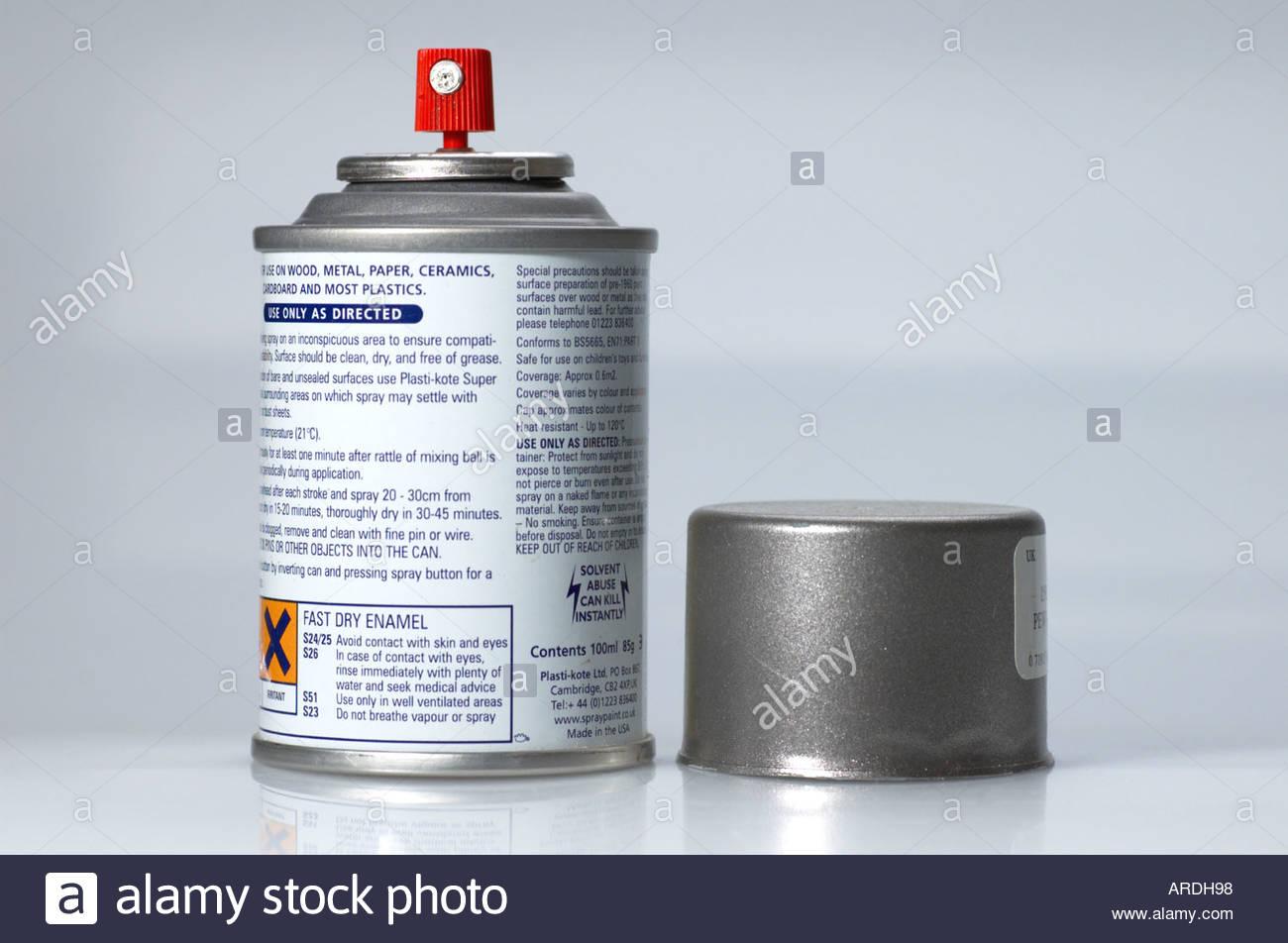 An aerosol spraypaint - Stock Image