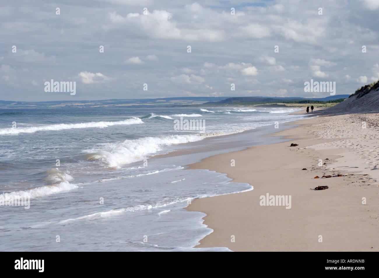 Lossiemouth Beach Moray.  XPL 3625-351 - Stock Image