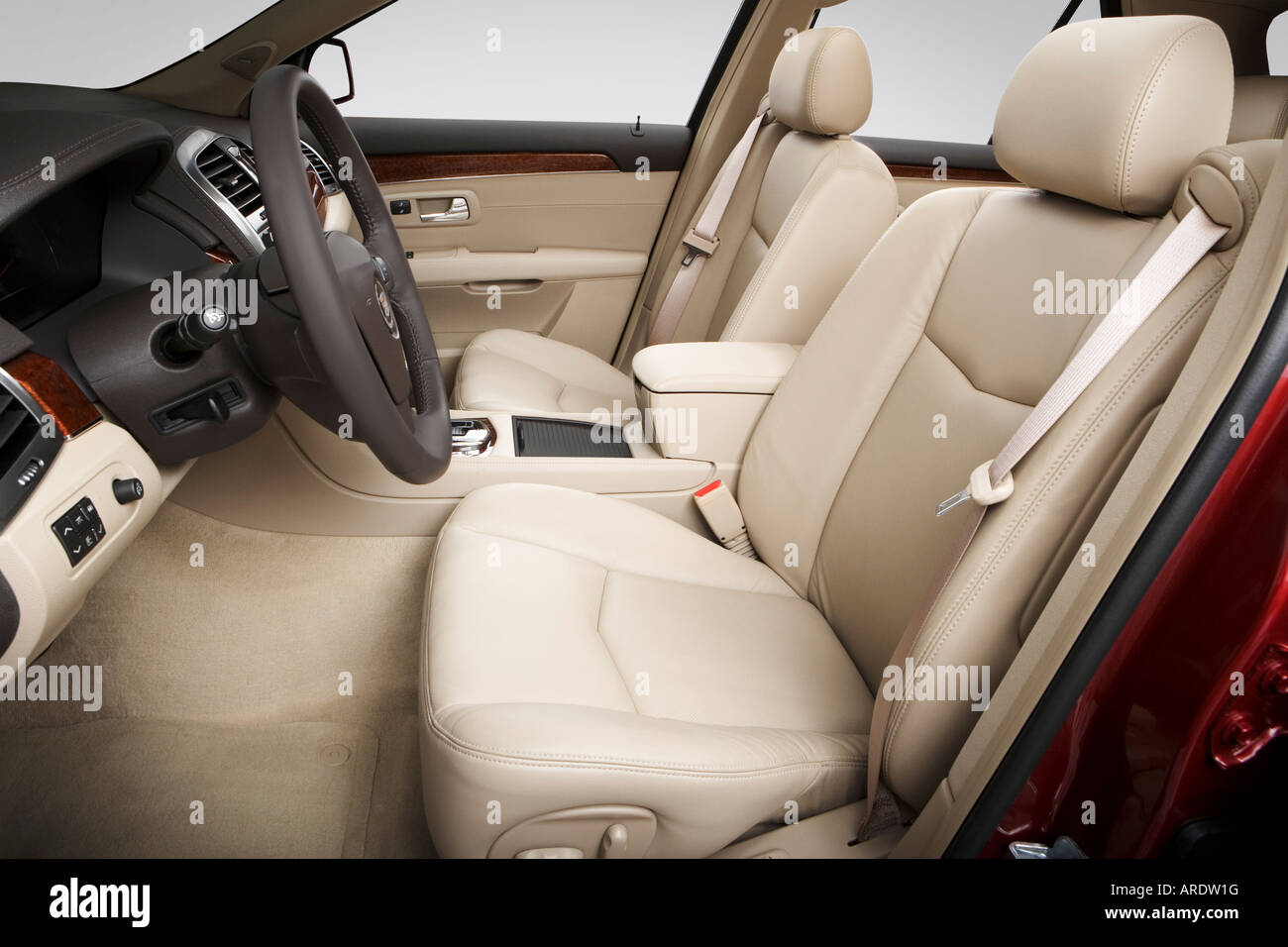 Fabulous 2007 Cadillac Srx Crossover V8 In Red Front Seats Stock Uwap Interior Chair Design Uwaporg