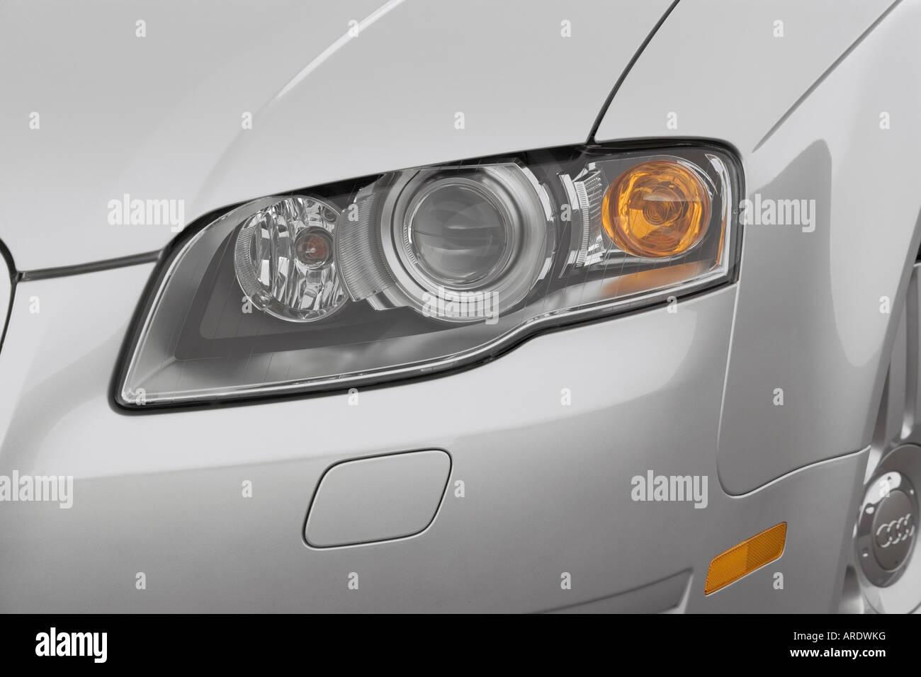 Audi A T Quattro Stock Photos Audi A T Quattro - 2007 audi a4 headlights