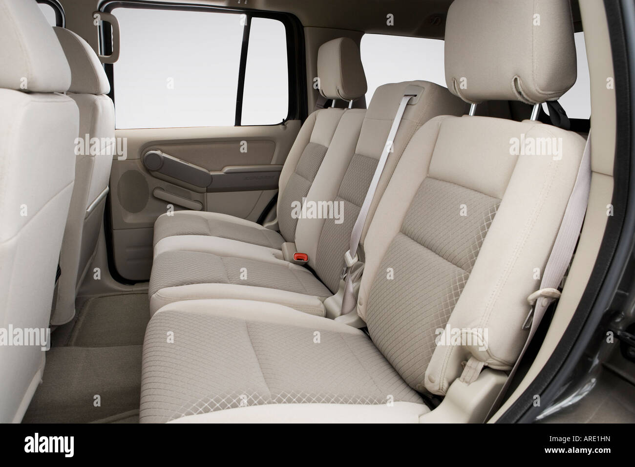 2006 Ford Explorer Xls In Gray Rear Seats Stock Photo