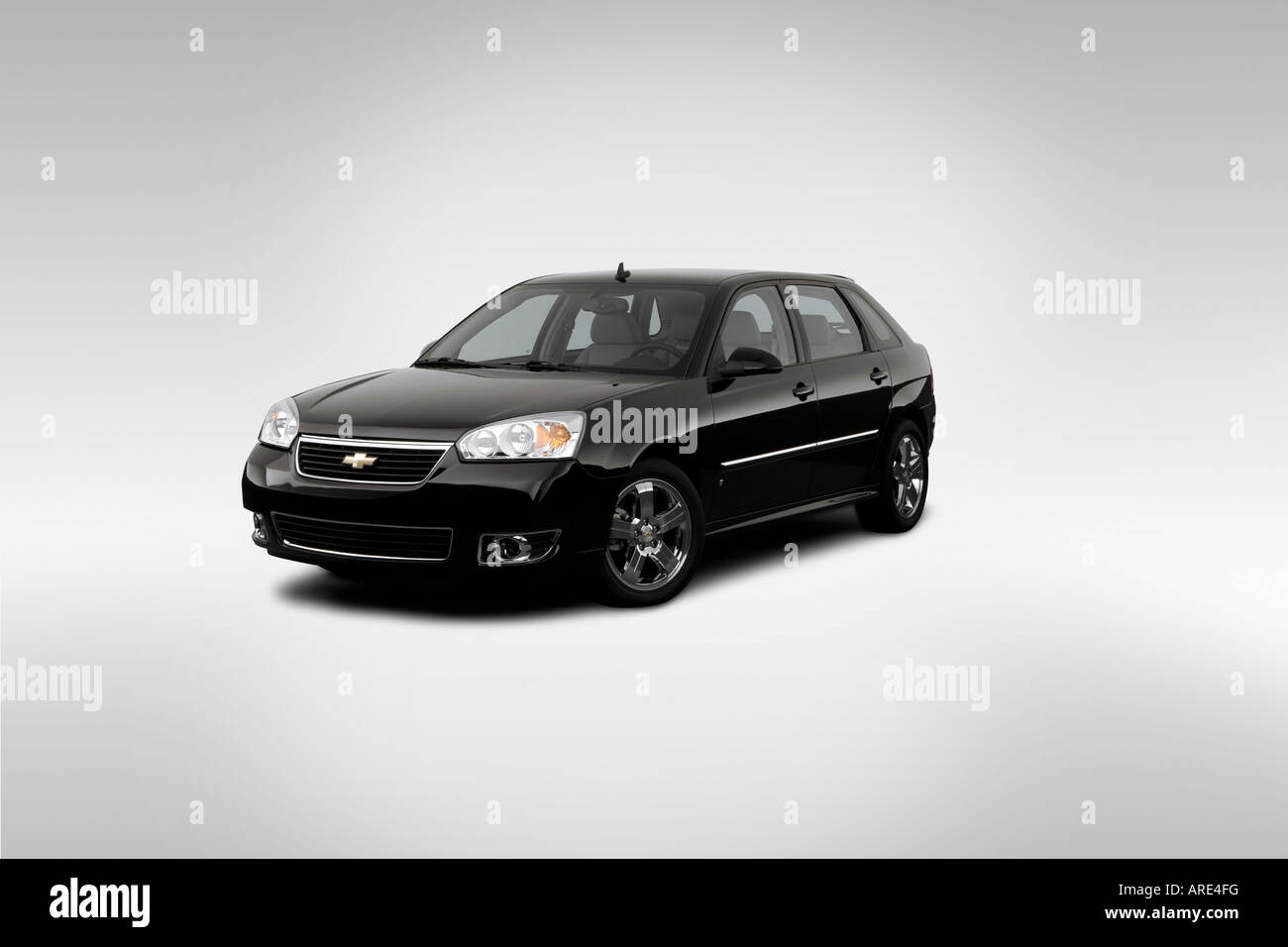 2005 Chevrolet Malibu Maxx LT In Black   Front Angle View