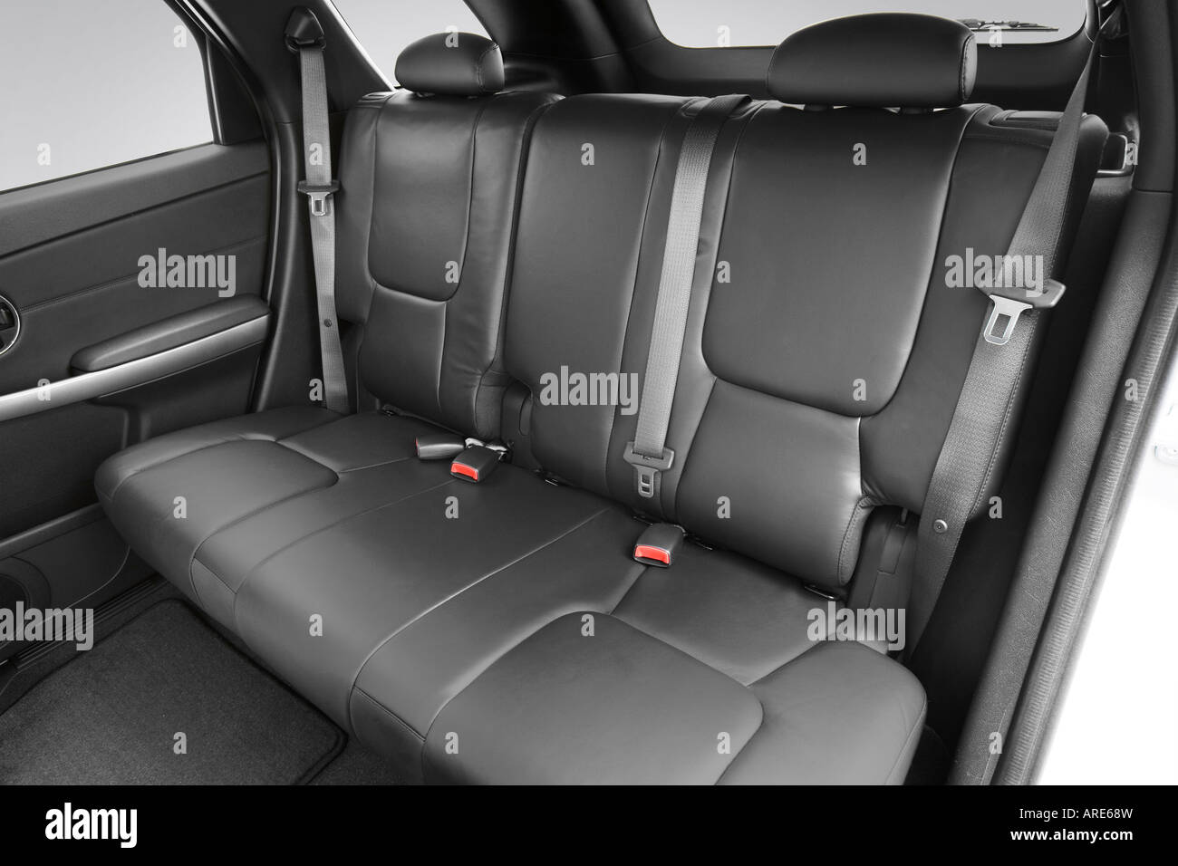 2006 Pontiac Torrent In Silver Rear Seats Stock Photo 16027080