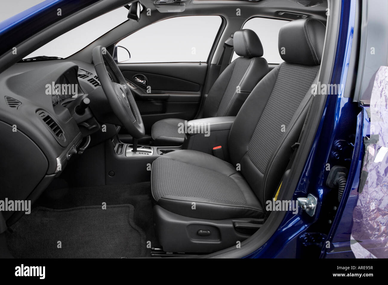 Stupendous 2006 Chevrolet Malibu Ss In Blue Front Seats Stock Photo Pabps2019 Chair Design Images Pabps2019Com