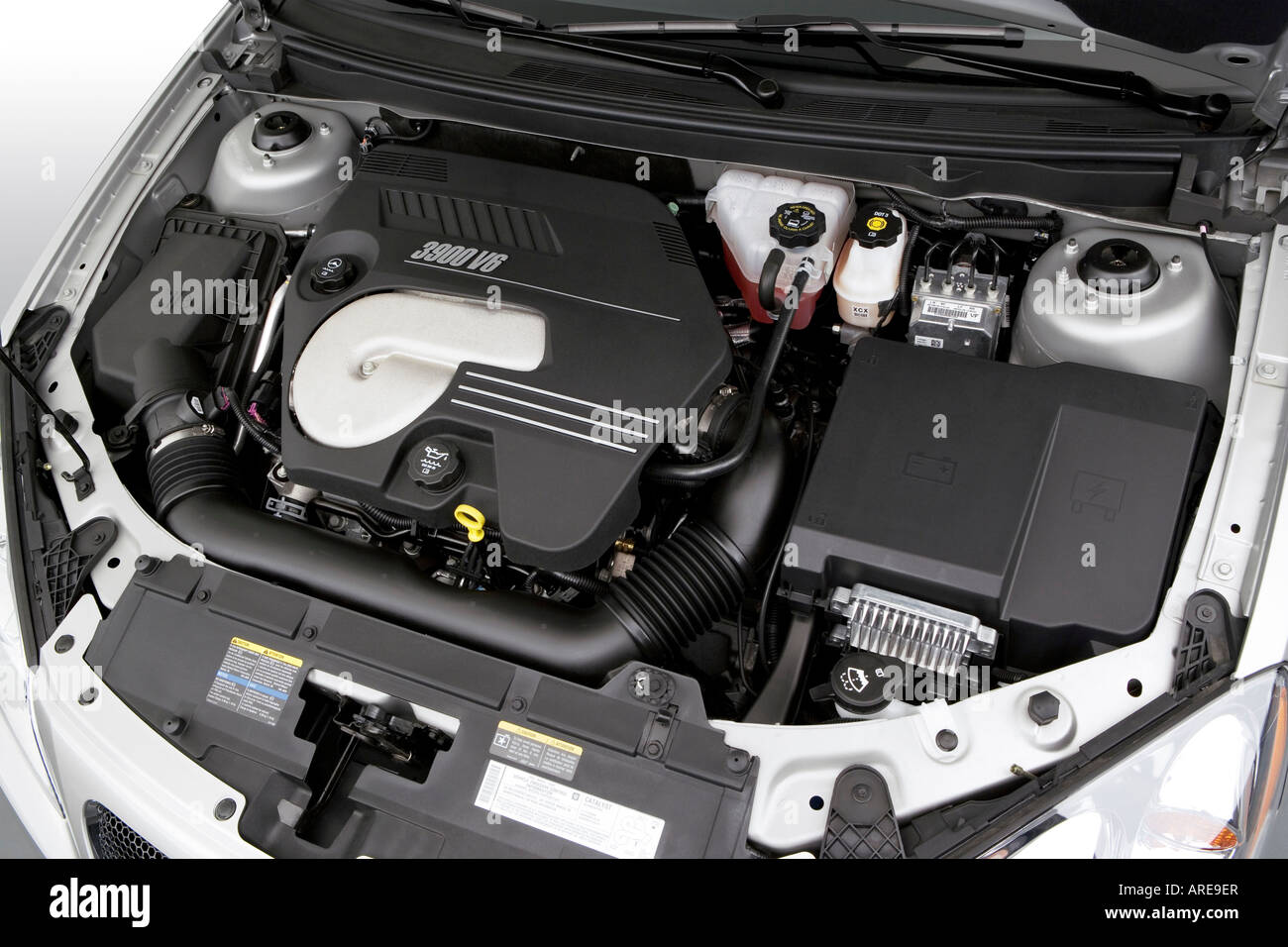 2006 Pontiac G6 GTP in Silver - Engine Stock Photo ...