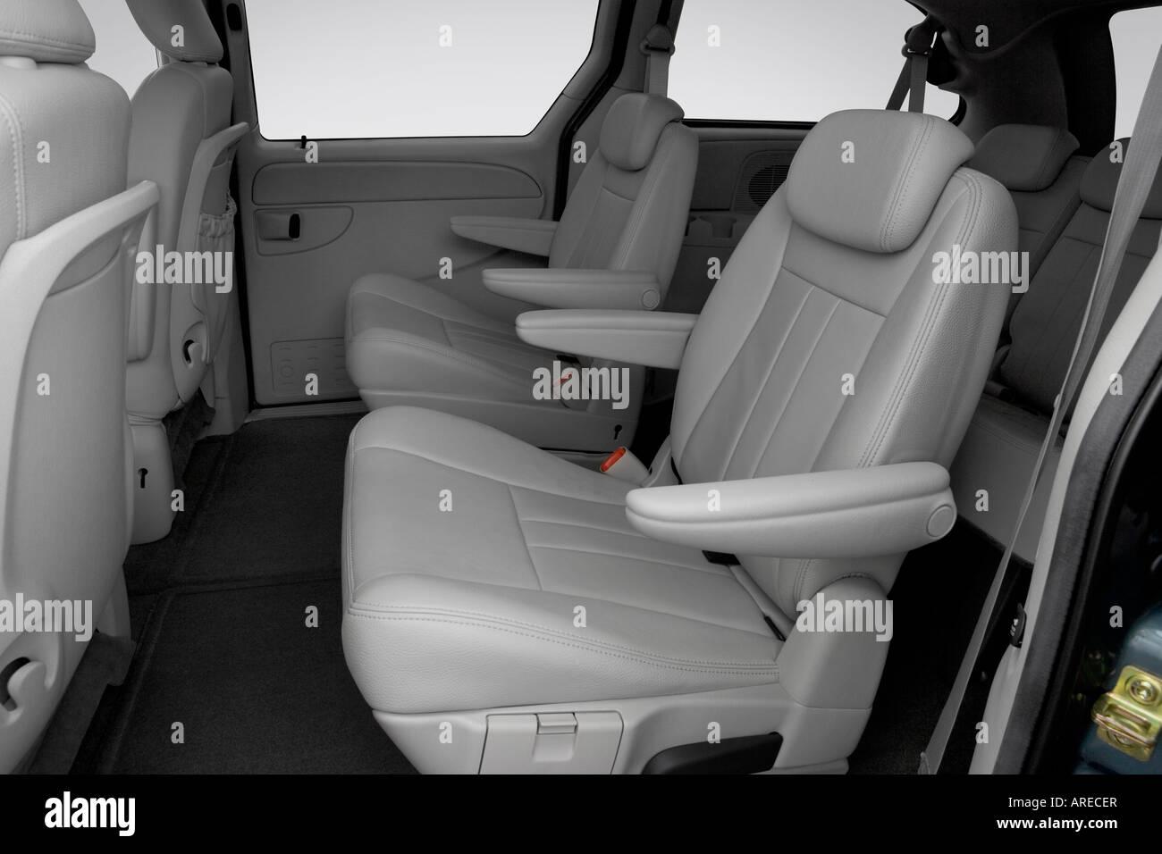 Phenomenal 2006 Dodge Grand Caravan Sxt In Blue Rear Seats Stock Pabps2019 Chair Design Images Pabps2019Com