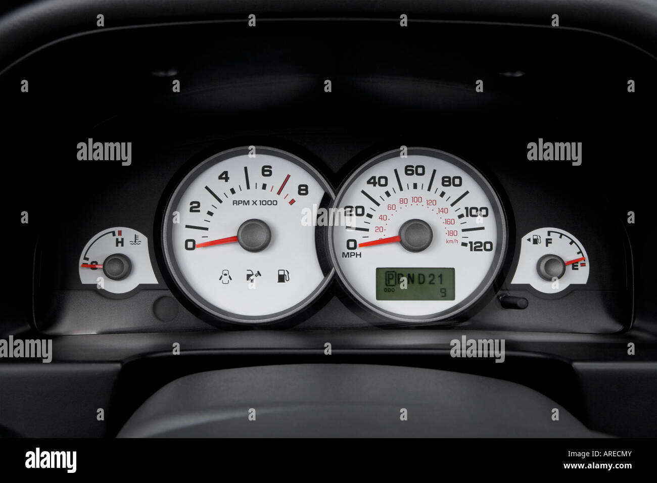 2006 ford escape xlt in blue speedometer tachometer. Black Bedroom Furniture Sets. Home Design Ideas