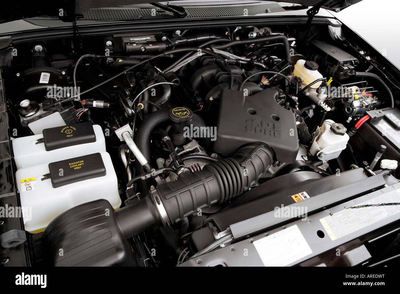 2006 ford ranger fx4 off road in black engine