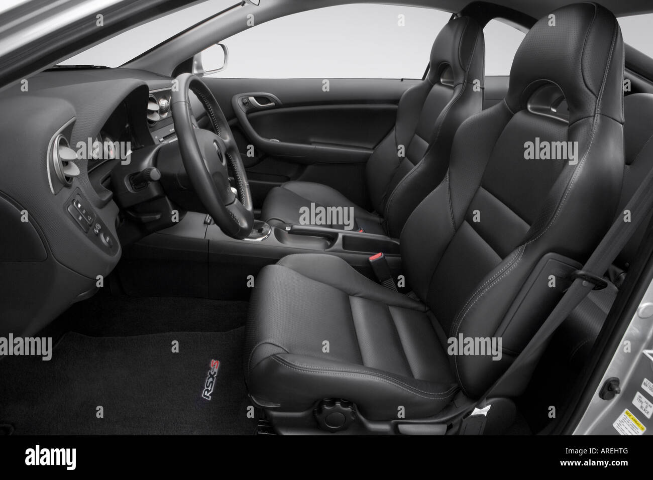 2006 Acura RSX Type-S in Silver - Front seats Stock Photo: 16030959