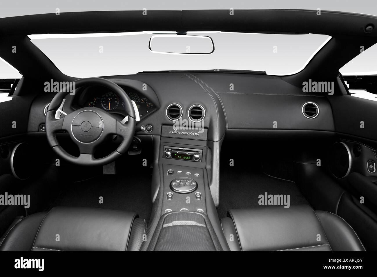 2006 Lamborghini Murcielago Roadster In Gray Dashboard Center