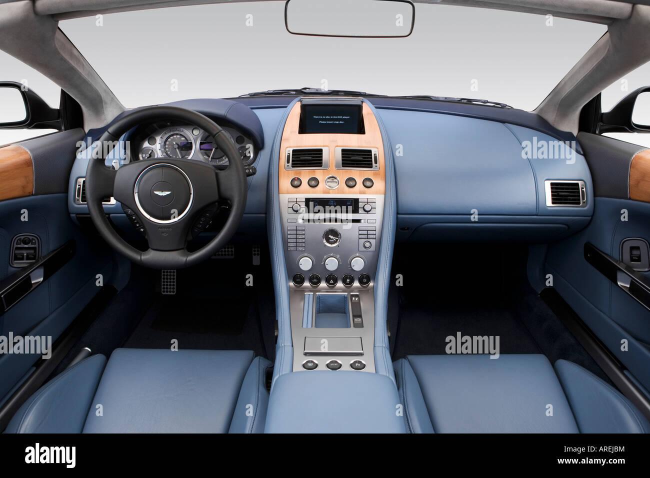 Aston Martin Db Dashboard Stock Photos Aston Martin Db Dashboard - 2006 aston martin db9