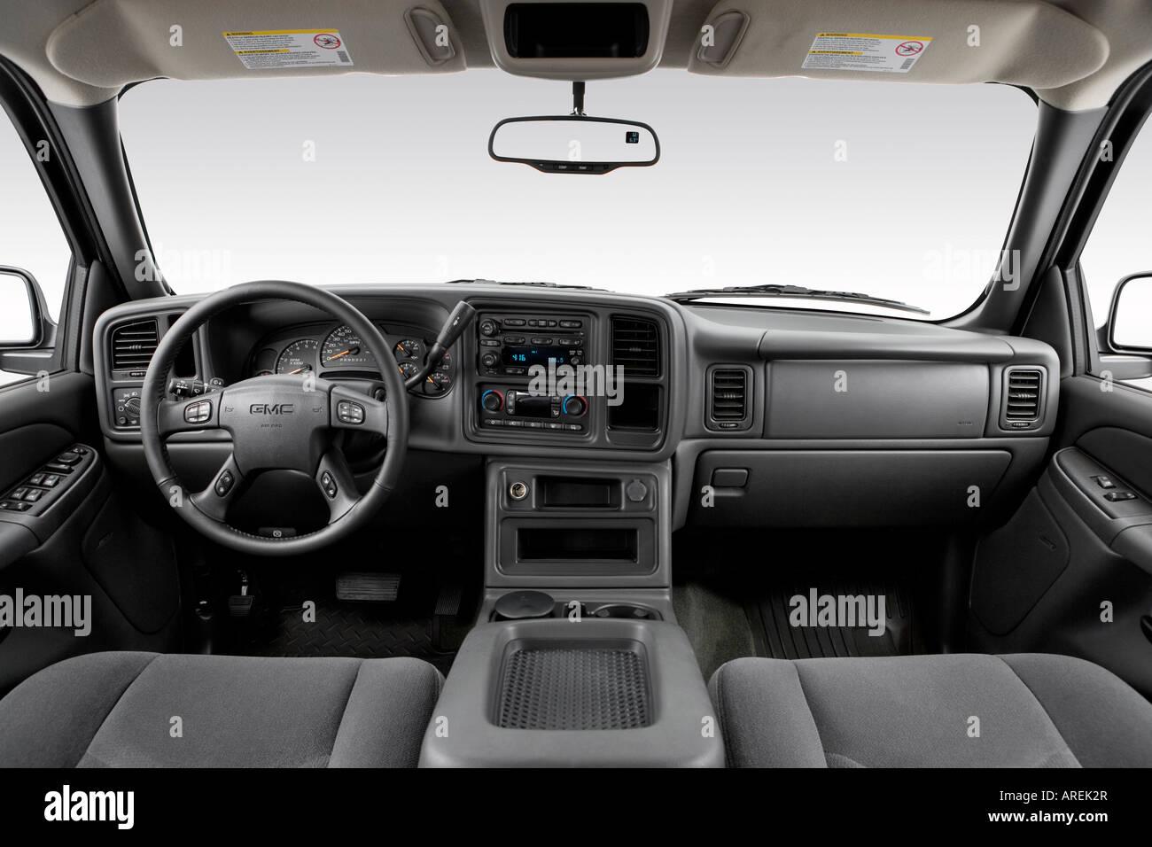 2006 Chevrolet Silverado 1500 Crew Cab >> 2006 GMC Sierra 1500 HD SLE in White - Dashboard, center ...