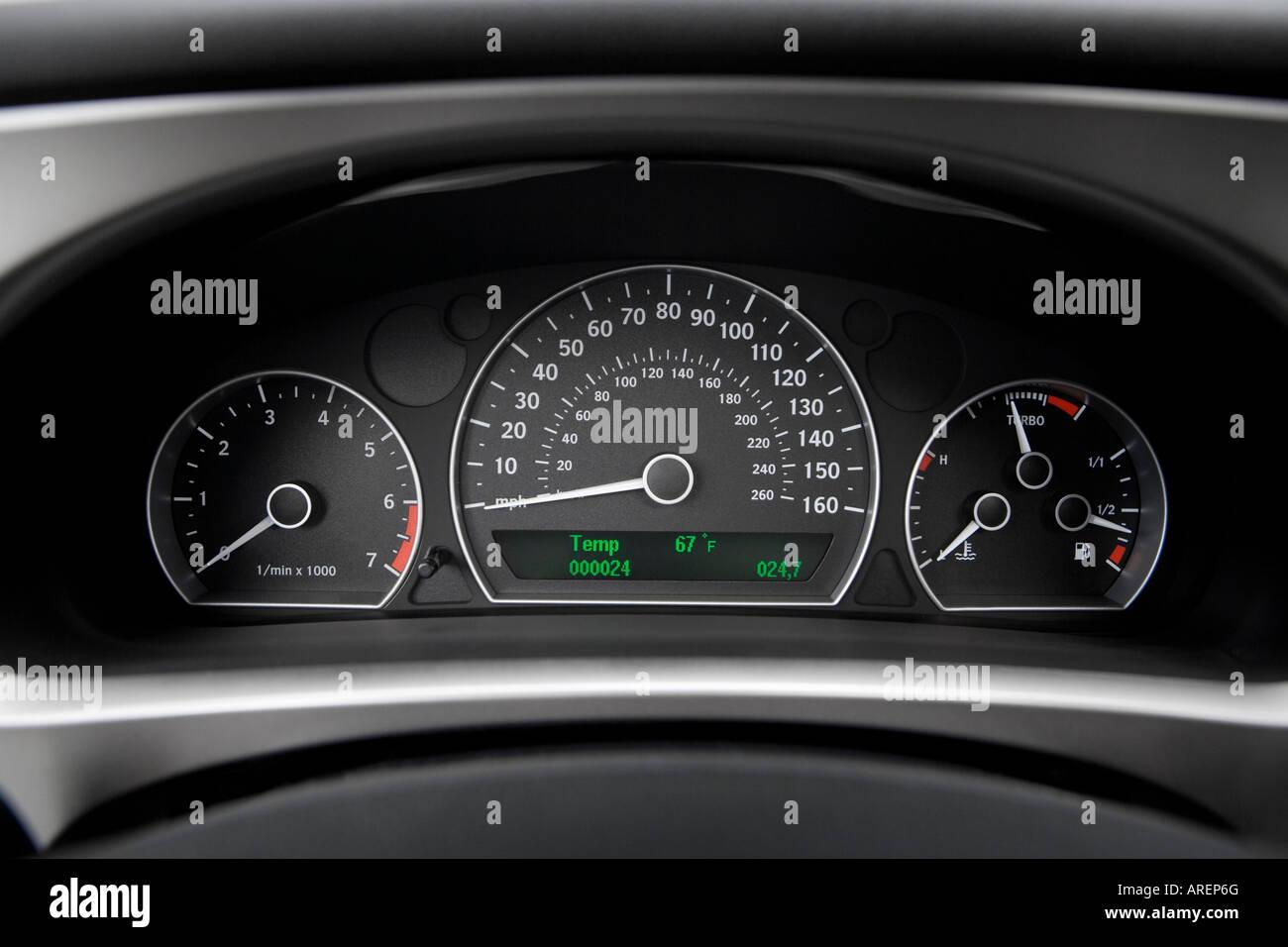 2006 Saab 9 5 23T Sport Combi In Gray