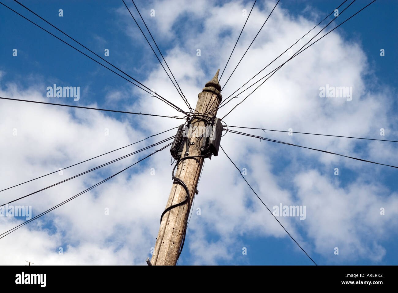 British Phone Wires Stock Photos & British Phone Wires Stock Images ...