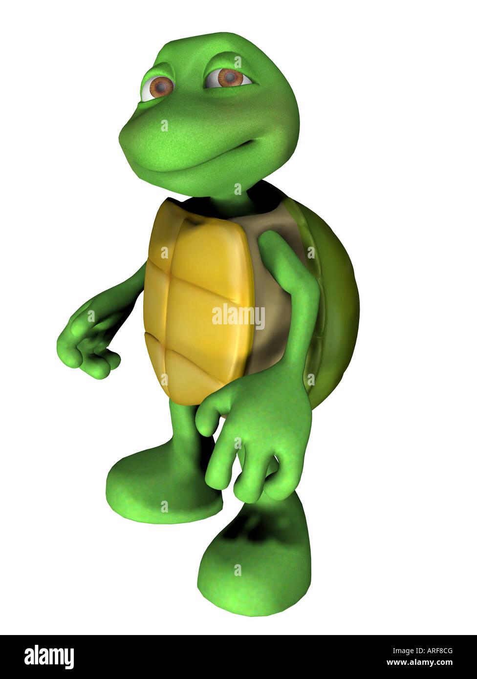 turtle - Stock Image
