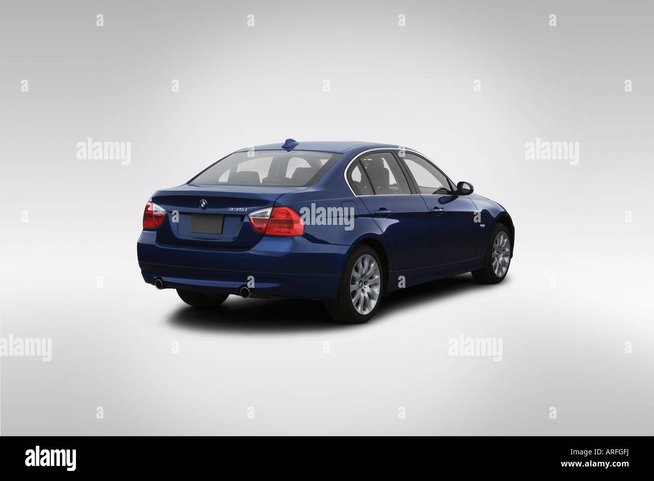 2007 BMW 3 Series 335i In Blue